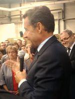 Un message fort de Nicolas Sarkozy en direction de la filière bois française