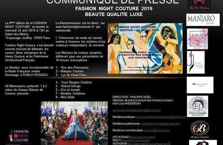 FNC 2019 RAPPEL DU COMMUNIQUÉ DE PRESSE