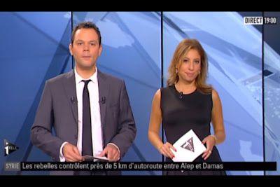 [2012 10 11] LEA SALAME - I>TELE - L'EDITION DU SOIR @18H30