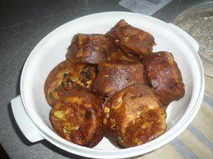 Délicieux muffins à la courgette ( sans viande) :