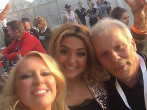 Jacky P. mit Heino und Maria Voskania