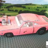 K-22. DODGE DRAGSTER MATCHBOX 1/36 - PINK DODGE - car-collector.net