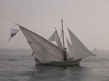 """Photos de la Mourejade rencontre de bateaux à voile latine organisé par la section voile latine de """"lei pesccadous de l'Estaco"""""""