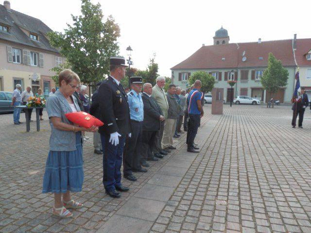 Cérémonie du 18 juin à Neuf-Brisach