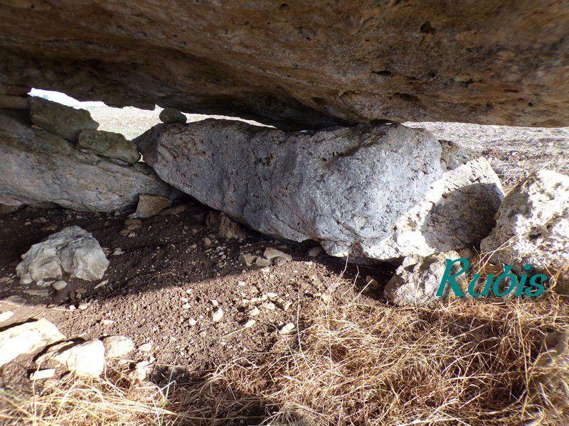 Dolmen du Palet de Gargantua ou du Crapaud, Beauce-la-Romaine (41)