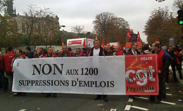 Les salariés de Dieppe diffusion presse en lutte pour leurs emplois