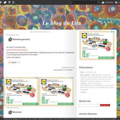 Le blog de Lila
