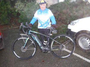 Ancien vélo ; nouveau vélo acquit en décembre 2017.