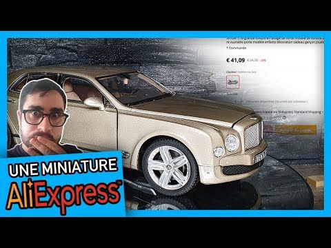 TEST : On a acheté une BENTLEY MULSANNE 1/18 sur ALIEXPRESS