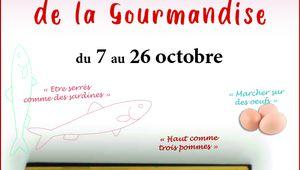 """EXPOSITION """"LES MOTS DE LA GOURMANDISE"""""""