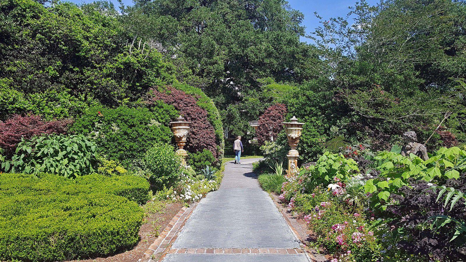 Houmas Plantation jardin