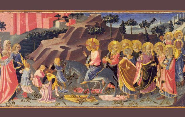 Entrée du Christ à Jérusalem.