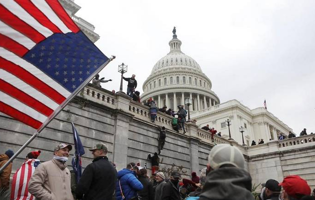 Crisis at the Capitol Live: US Senate rejects first challenge to certifying Biden win