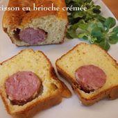 Saucisson en brioche crémée du Petit Bistro - Chez Mamigoz