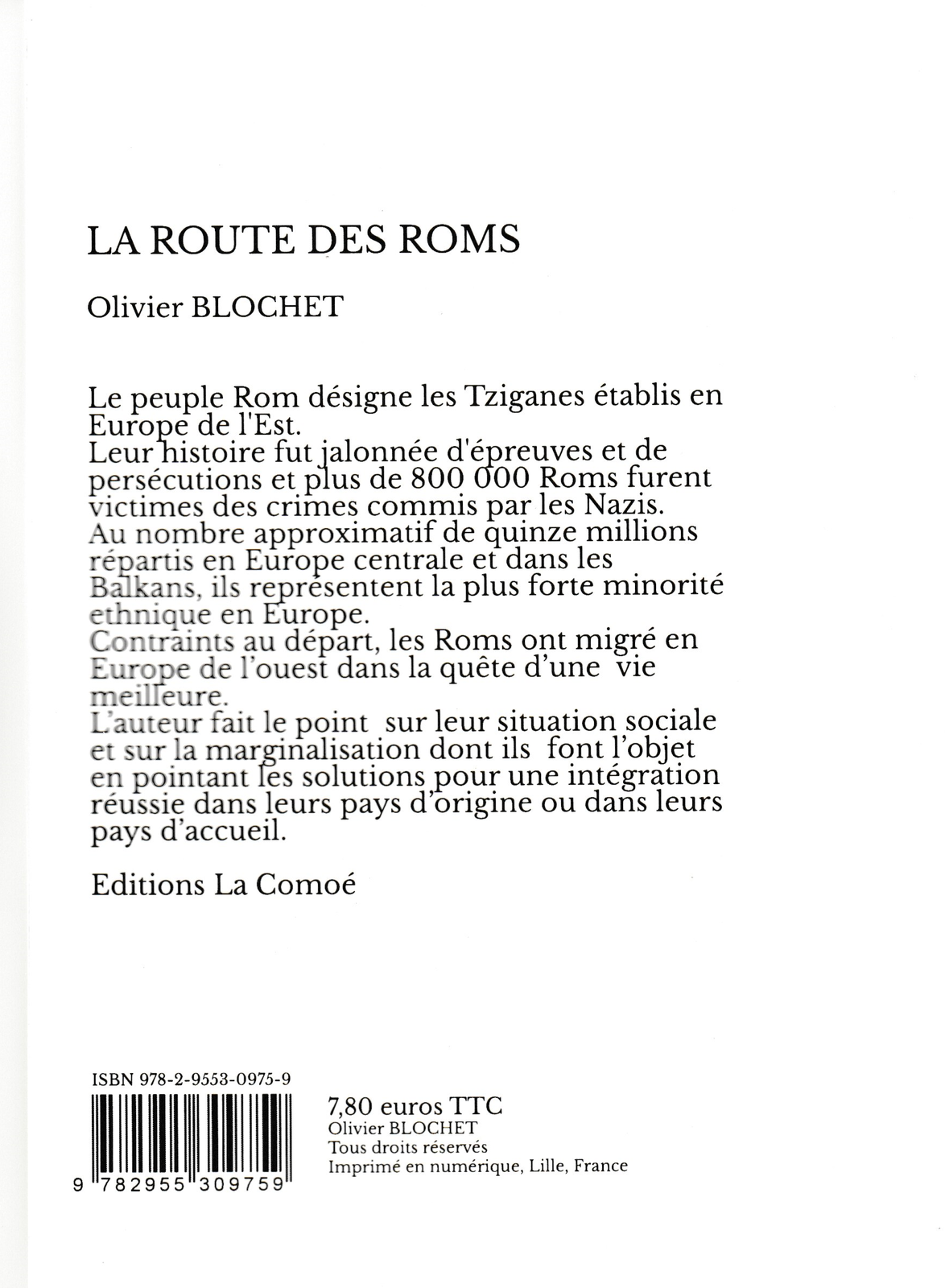 90 pages - 7,80 euros
