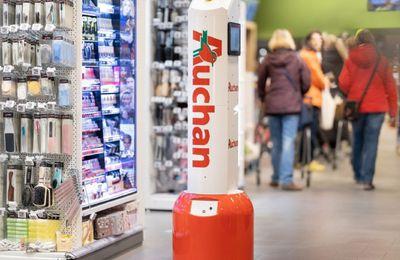 Grande distribution : Auchan introduit des robots dans les magasins portugais