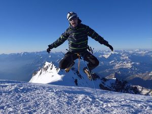 Mont Blanc 4810 m - mes 12 ascensions