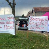 Foucherans : les aide-soignantes des Opalines continuent la grève