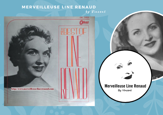 33 TOURS: 1964 Odéon - OR 7053 - The Best Of Line Renaud (Japon)
