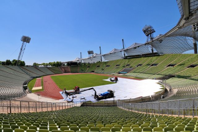 Stade olympique de Munich Allemagne