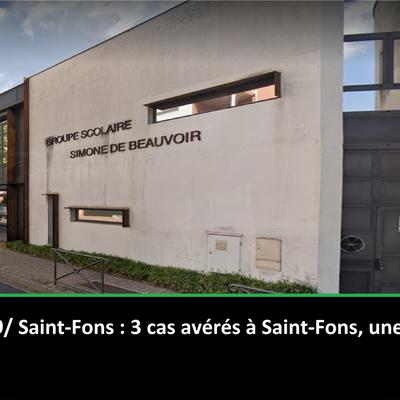 Alerte Covid-19/ Saint-Fons : 3 cas avérés à Saint-Fons, une école primaire fermée