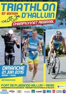 TRIATHLON D'HALLUIN 2015
