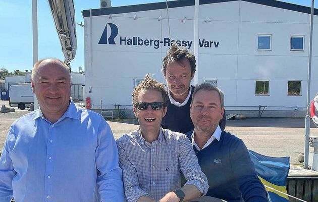 A new French importer for the Swedish sailboats Hallberg-Rassy