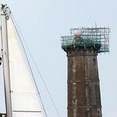 La tour de la découverte vue de Locmiquélic : une histoire mouvementée ! - Hier, aujourd'hui, demain à Locmiquélic...