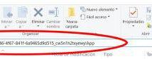 Nuevo explorador de archivos de Windows 10