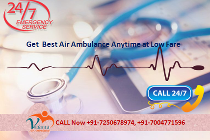 Get 24 Hours Reliable Air Ambulance service in Delhi by Trusted Air Ambulance Services