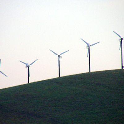 Le fonctionnement d'une éolienne