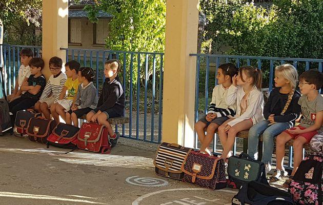 Bénédiction des cartables en cette nouvelle rentrée scolaire