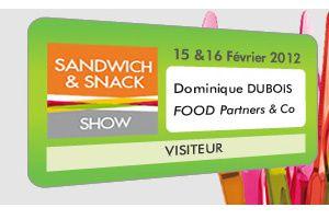 Le salon des sandwichs 2012