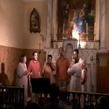 SAINT-BENOÎT Le samedi 04 juillet 18 h Eglise, MESCLUN Polyphonies à l'huile d'olive