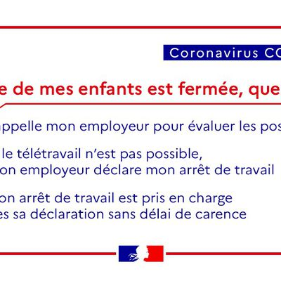 [Coronavirus] - Info de la Préfecture du Cantal