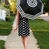 DIY: Striped Umbrella