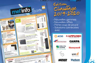 Découvrez le Mel'Info édition chauffage 2019-2020 de Melpro !