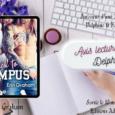 Back to Campus de Erin Graham chez Editions Addictives