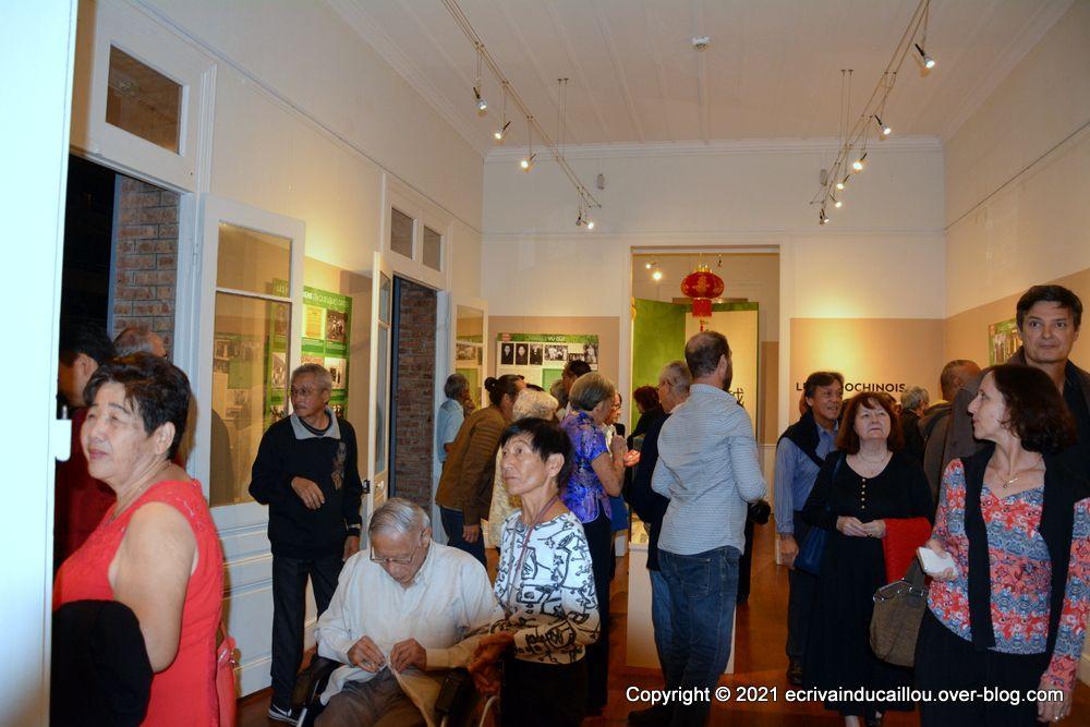 Vernissage de l'exposition : Hommage aux Calédoniens d'origines asiatiques