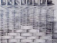 Série fenêtres, 2014 Dessin. Pierre noire, fusain, mine de plomb