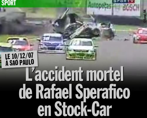 L'accident mortel de Rafael Sperafico en Stock-Car