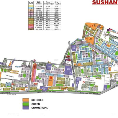 9873498205:Plot for sale in Sushant lok 1 Gurgaon-100 sqyd-500sqyd