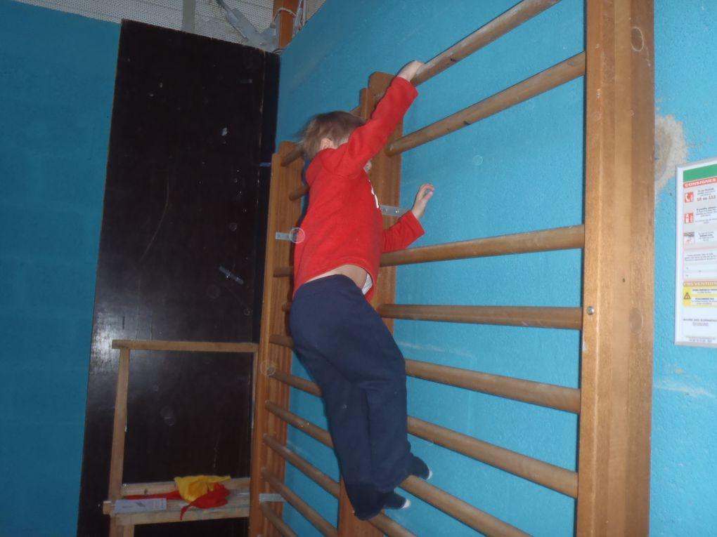 ça grimpe, ça saute, ça grimpe en MS chez Sylvie!