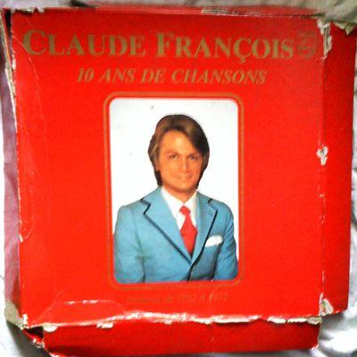 [VENDUE] Claude François 33 tours 10 ans de chanson de 1962 à 1972 PHILIPS 6641832 vg ex
