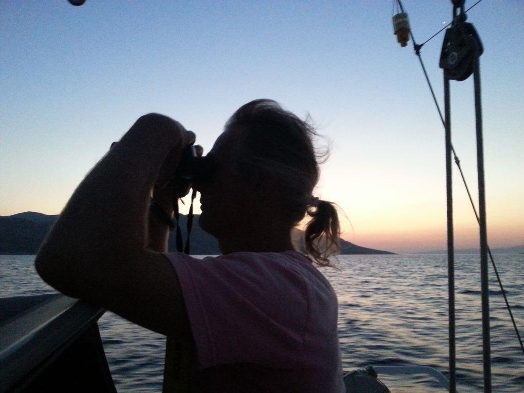 Navigation de nuit et coup de vent à Karisto