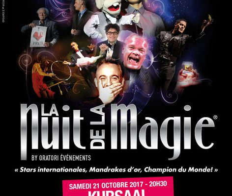 """""""LA NUIT DE LA MAGIE""""...C'EST LE 21 OCTOBRE...à BERCK SUR MER..."""