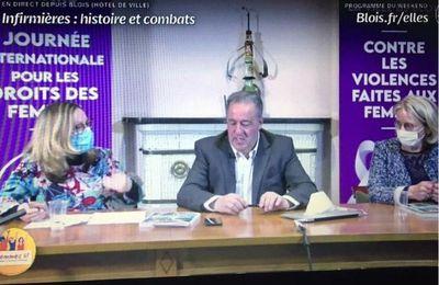 Découvrez « Conférence - Infirmières : histoire et combats » organisée par Femmes 41 et la Ville de Blois sur Vimeo.