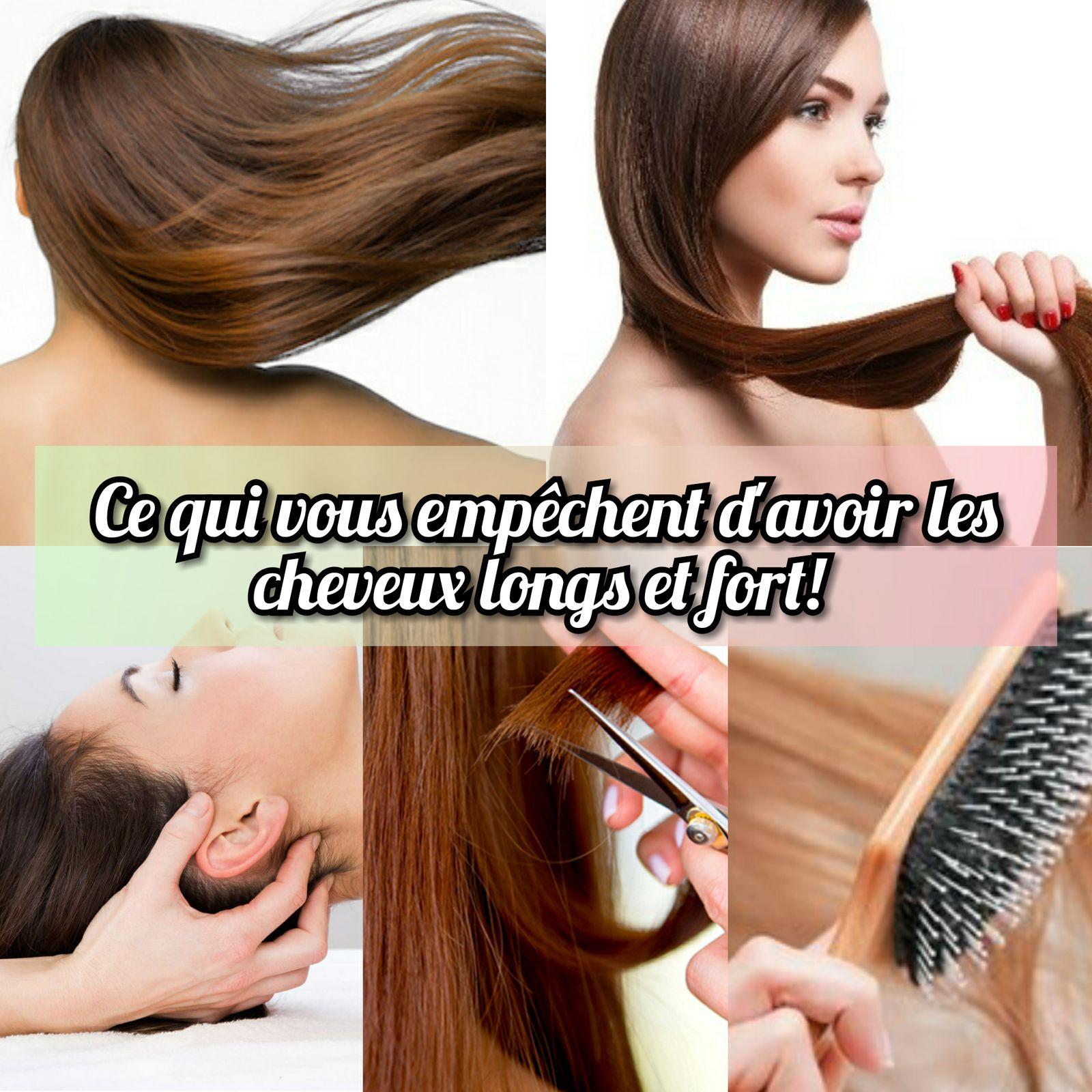 Les erreurs que font encore certaines personnes: ce qui vous empêchent d'avoir les cheveux longs et fort !