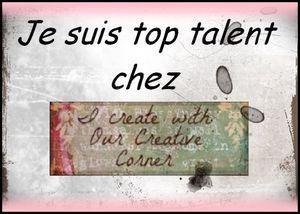 Invitée TOP talent....