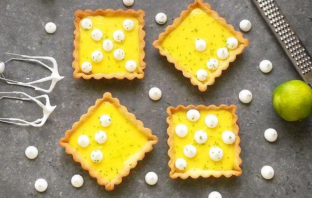 Tartelettes citron - citron vert